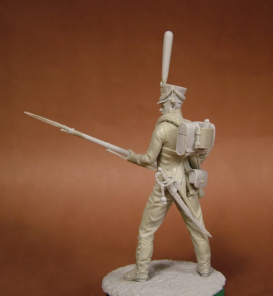 Sculpture: Russian grenadier, 1812, photo #5