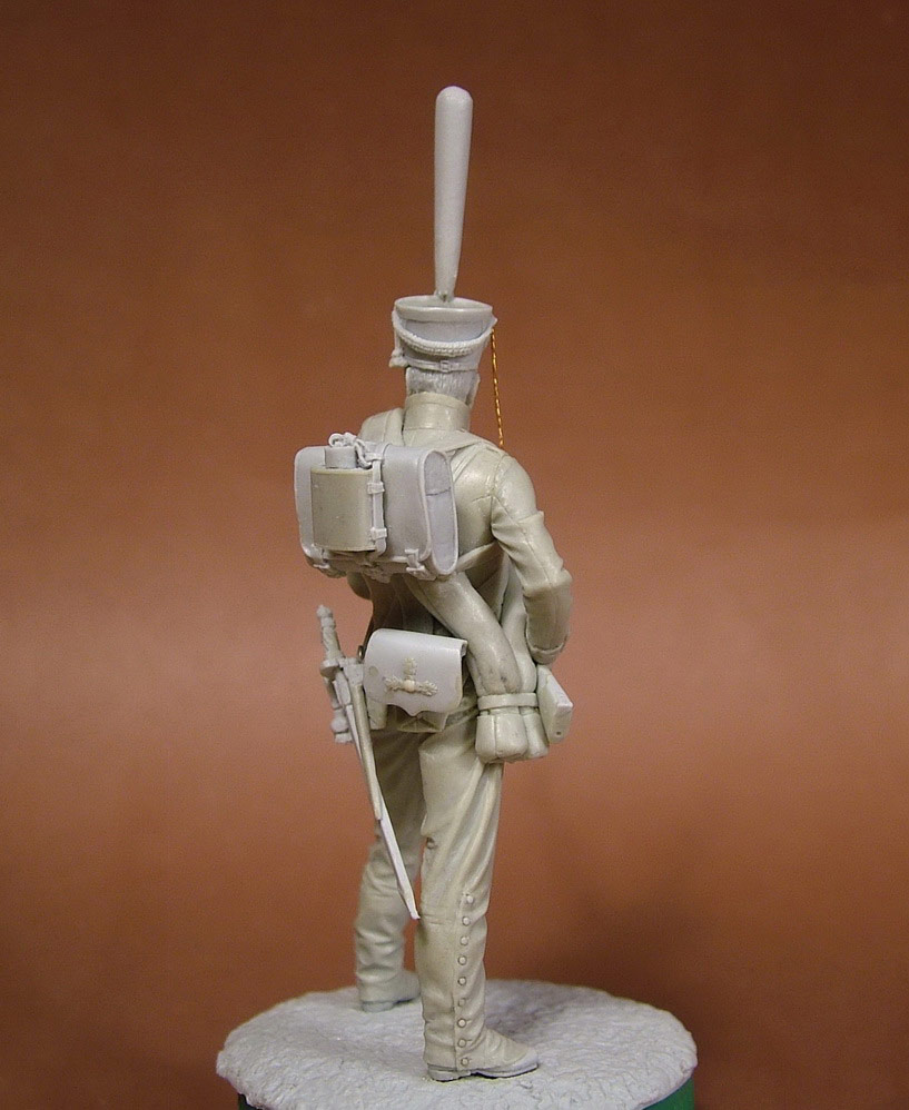 Sculpture: Russian grenadier, 1812, photo #7