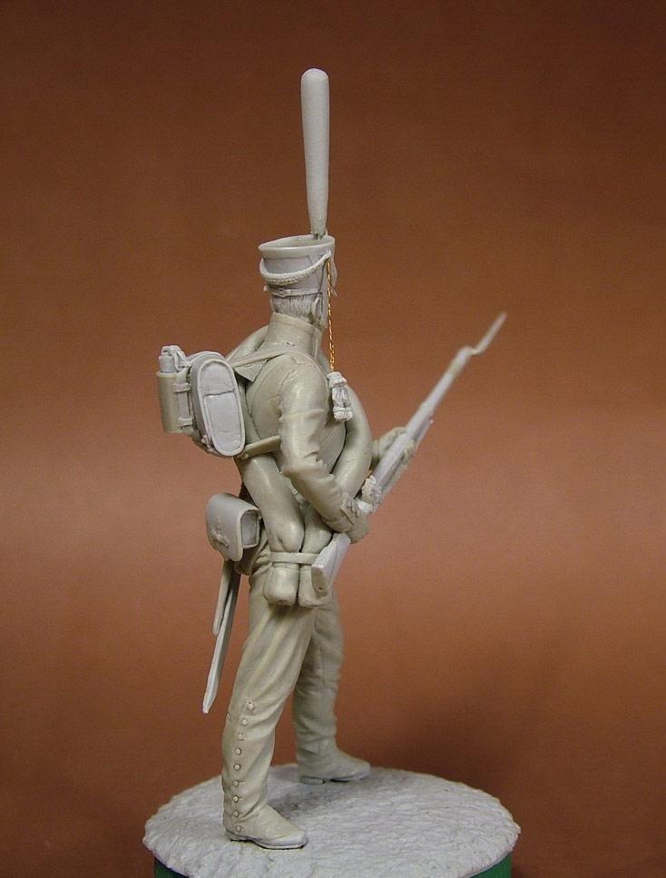 Sculpture: Russian grenadier, 1812, photo #8