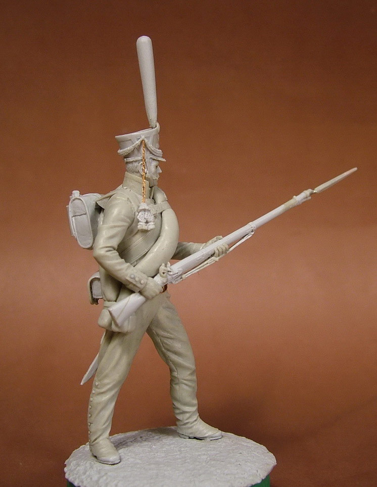 Sculpture: Russian grenadier, 1812, photo #9