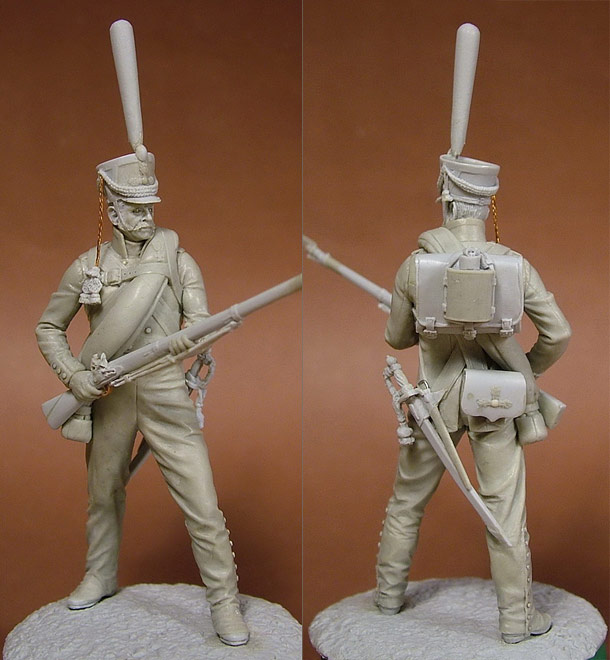 Sculpture: Russian grenadier, 1812