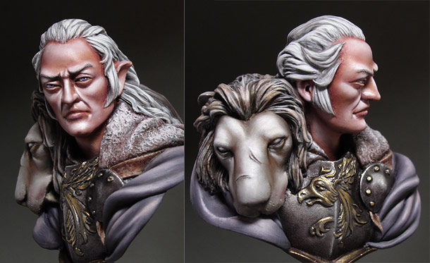 Figures: The White Lion