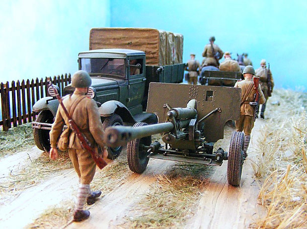 Dioramas and Vignettes: Roads of War