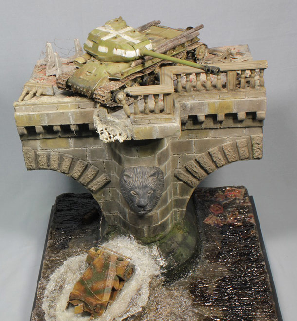 Dioramas and Vignettes: Tanks over Spree