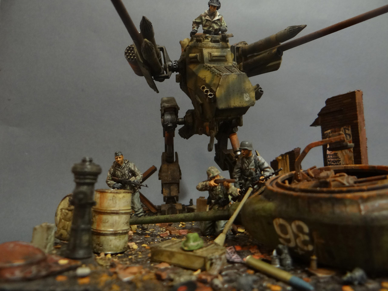 Dioramas and Vignettes: Iron Hans, photo #11