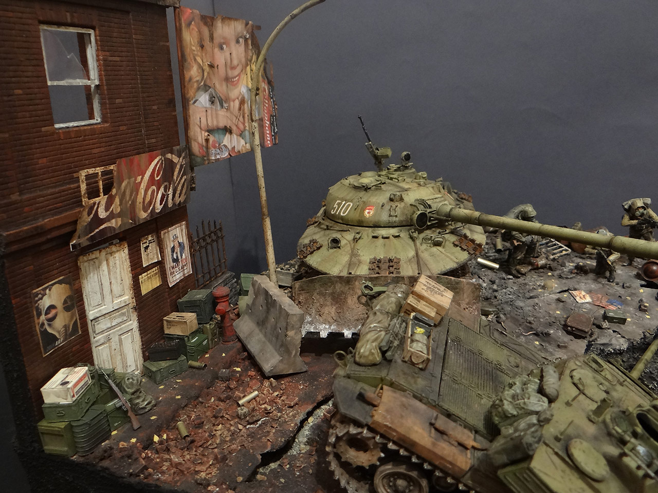 Dioramas and Vignettes: «Kuzka's mother», photo #10
