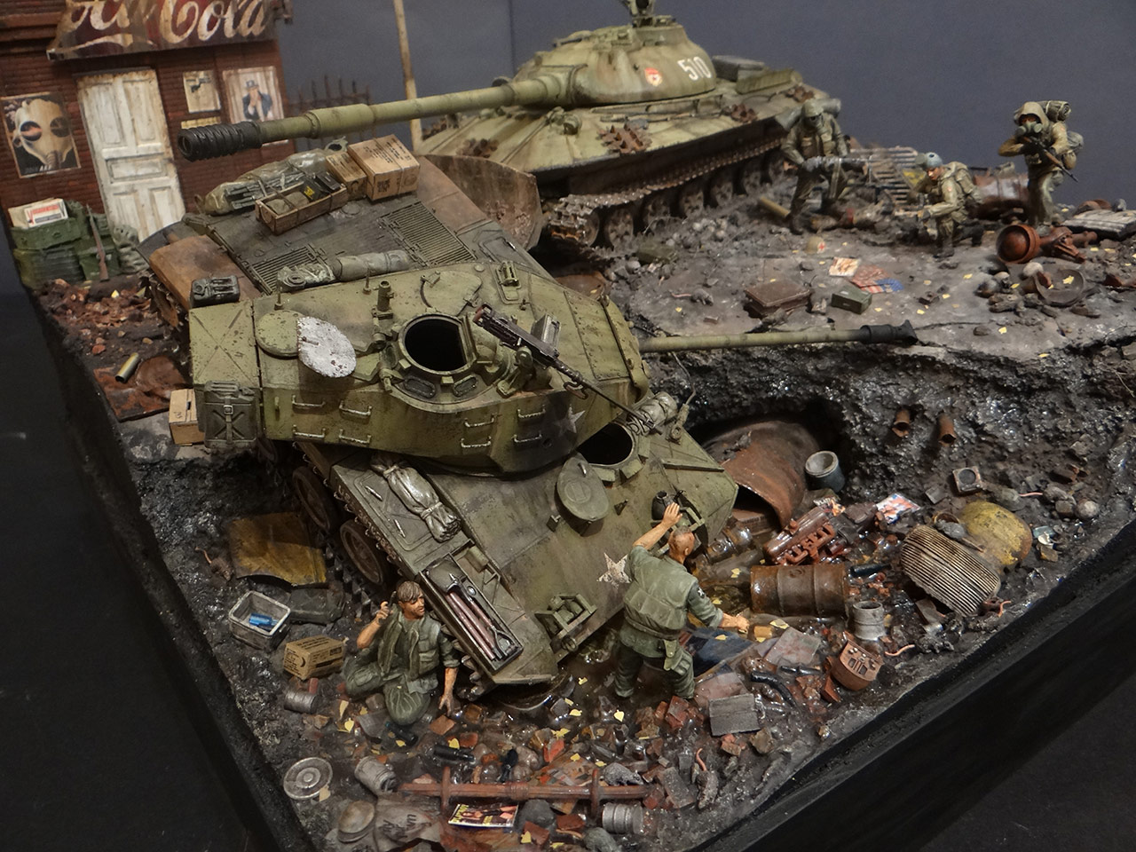 Dioramas and Vignettes: «Kuzka's mother», photo #12
