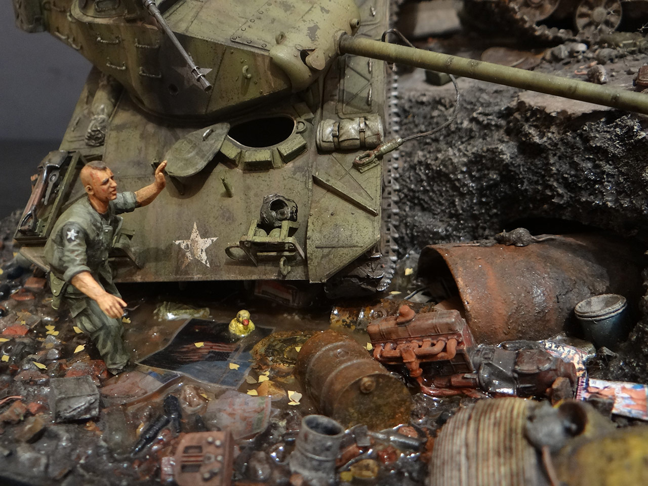 Dioramas and Vignettes: «Kuzka's mother», photo #14