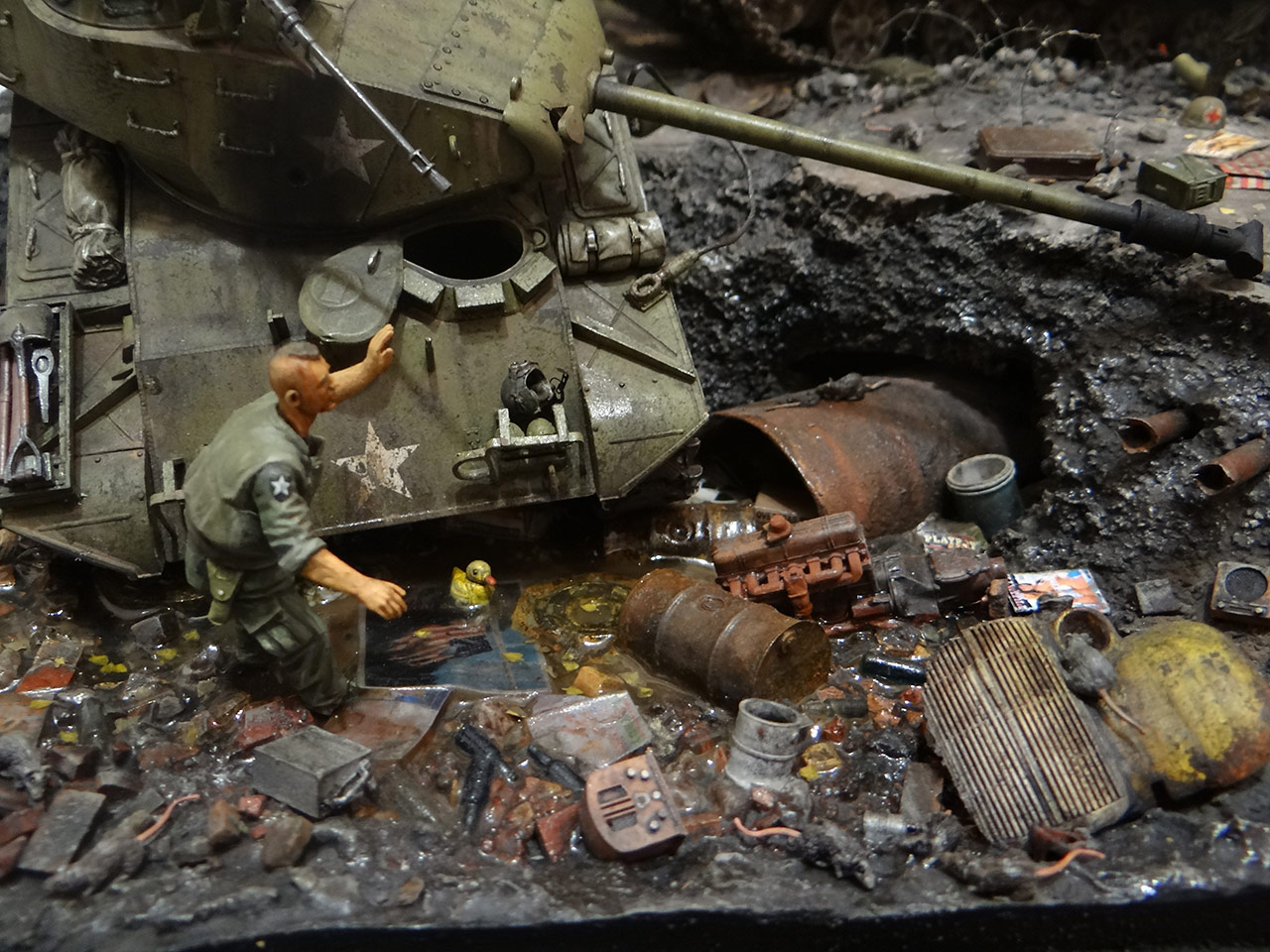 Dioramas and Vignettes: «Kuzka's mother», photo #24