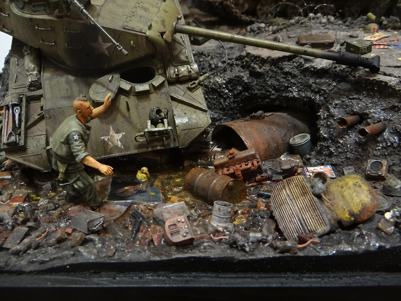 Dioramas and Vignettes: «Kuzka's mother», photo #26