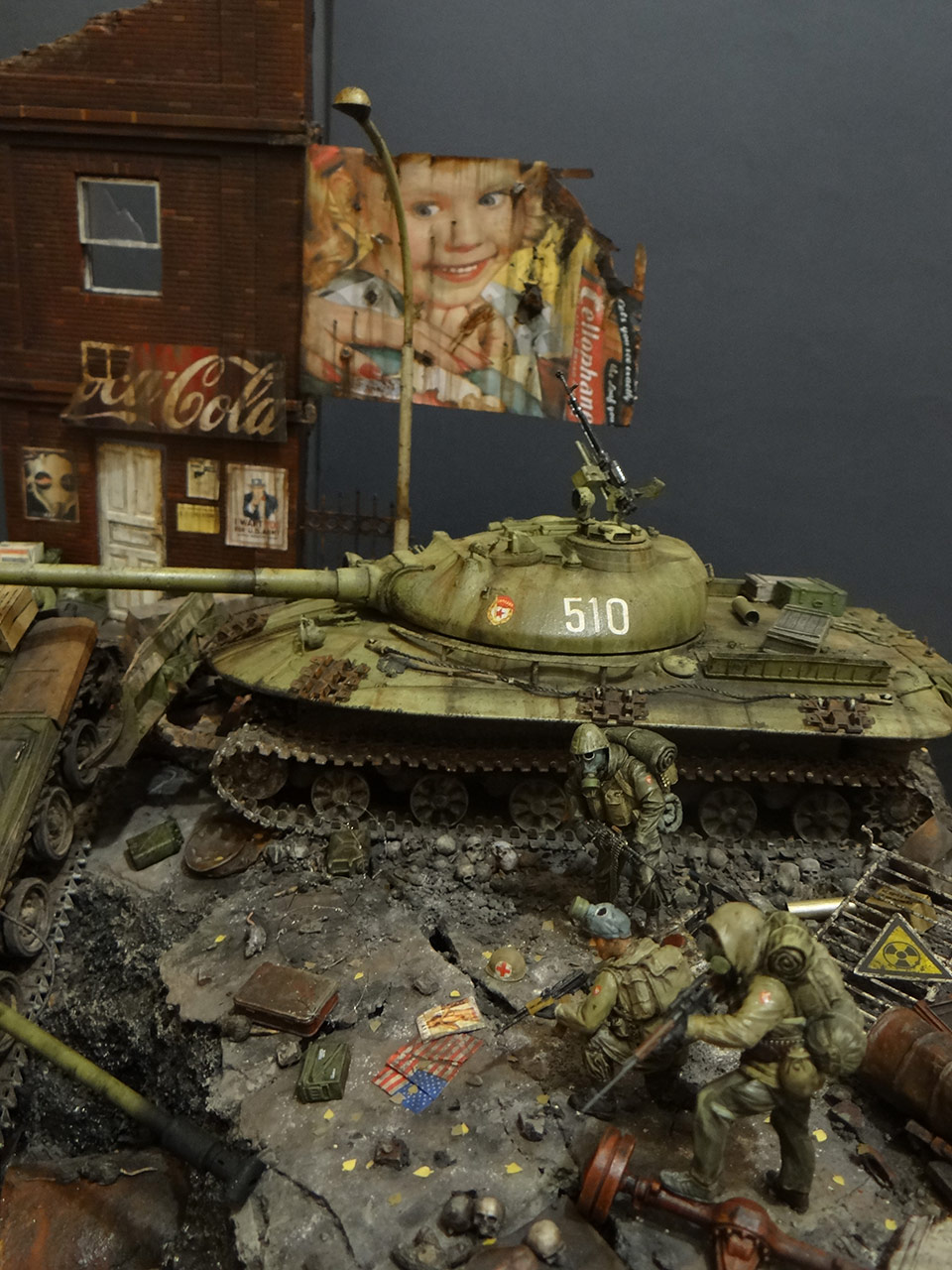 Dioramas and Vignettes: «Kuzka's mother», photo #8