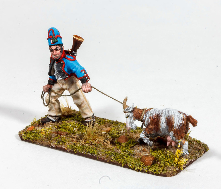 Figures: Bavarian foragers, photo #2
