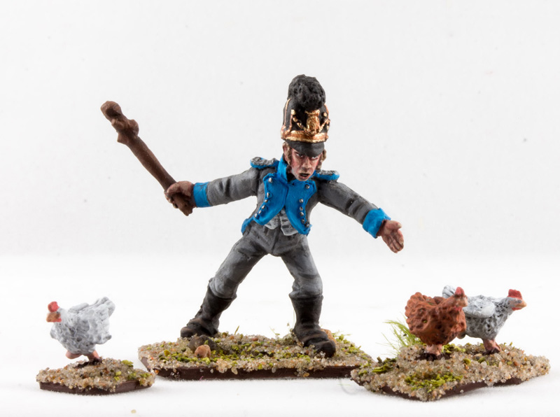 Figures: Bavarian foragers, photo #32