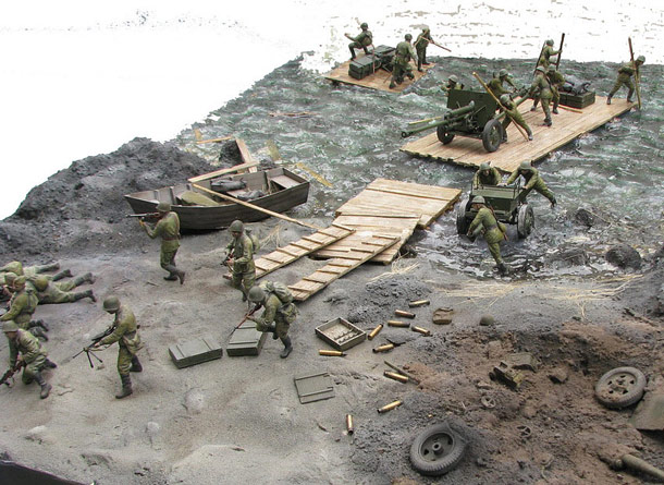 Dioramas and Vignettes: Battle for the Dnieper