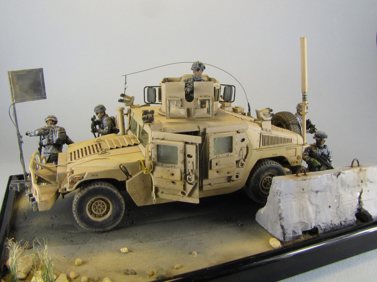Dioramas and Vignettes: Cavalry has come, photo #1
