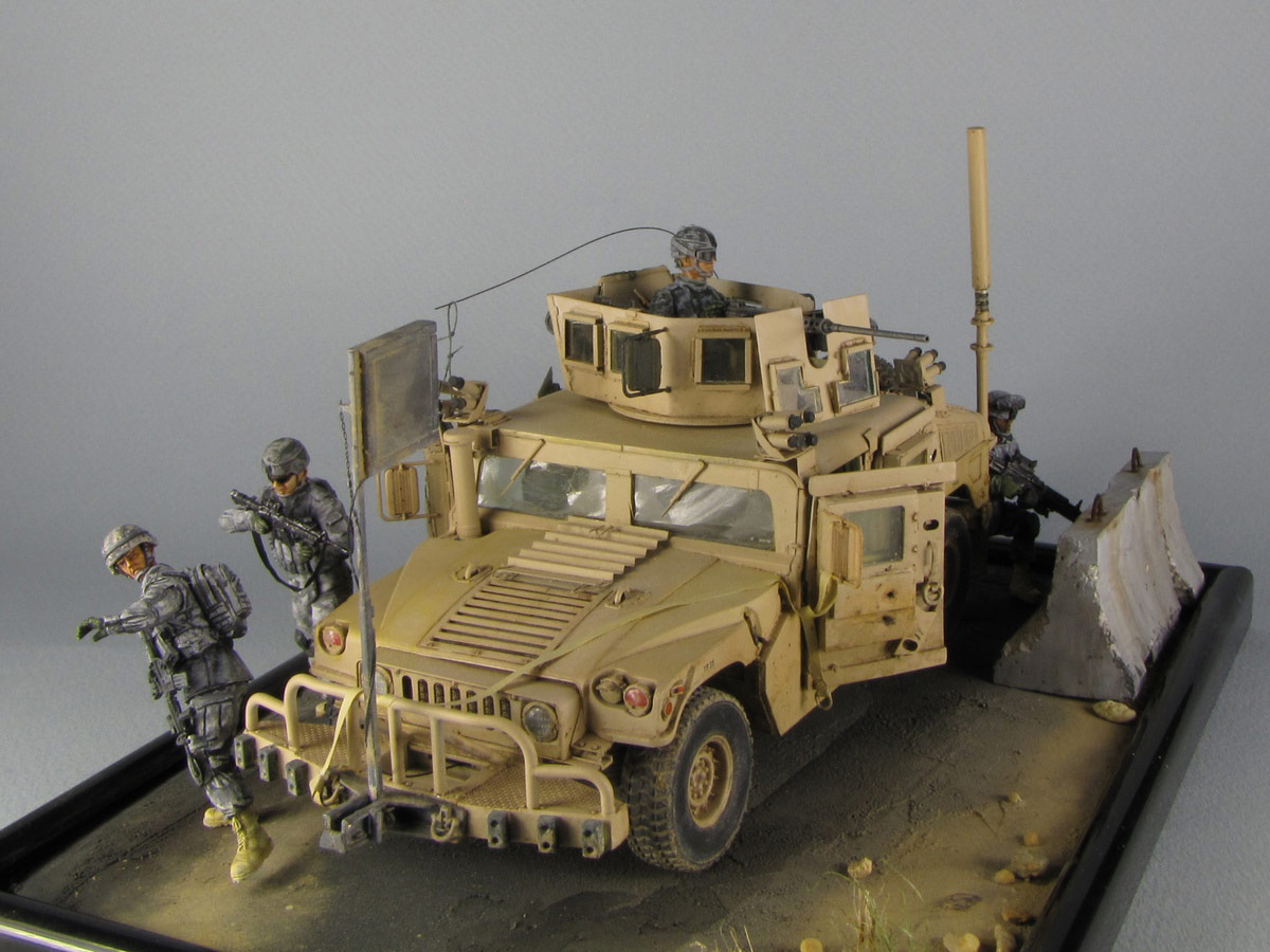 Dioramas and Vignettes: Cavalry has come, photo #2