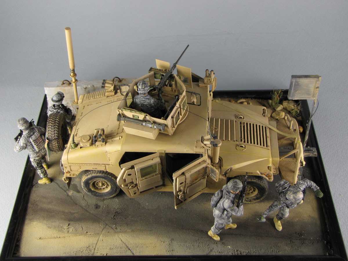 Dioramas and Vignettes: Cavalry has come, photo #4