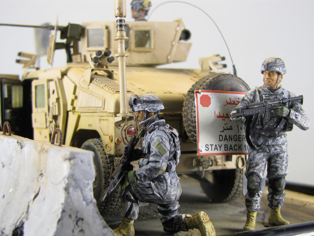 Dioramas and Vignettes: Cavalry has come, photo #5