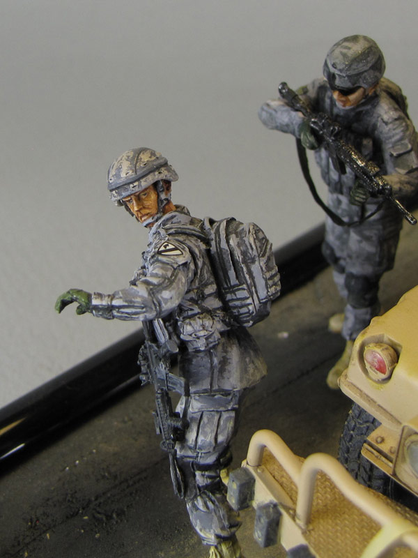 Dioramas and Vignettes: Cavalry has come, photo #8