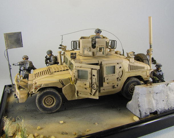 Dioramas and Vignettes: Cavalry has come