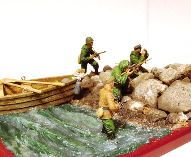 Dioramas and Vignettes: Soviet naval infantry
