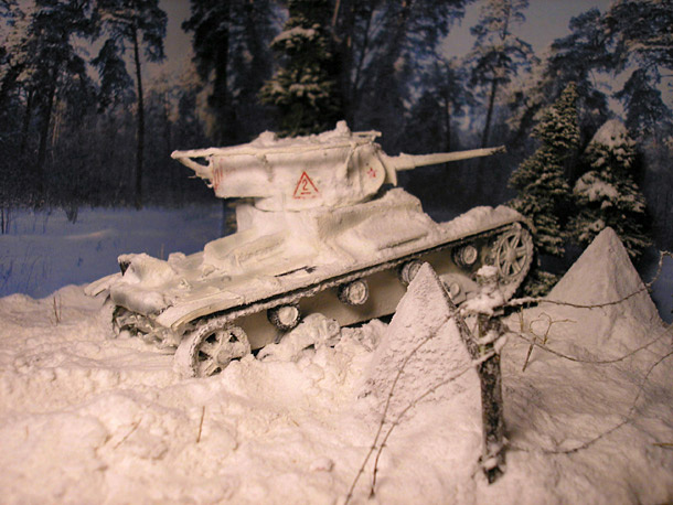 Dioramas and Vignettes: Finnish Winter