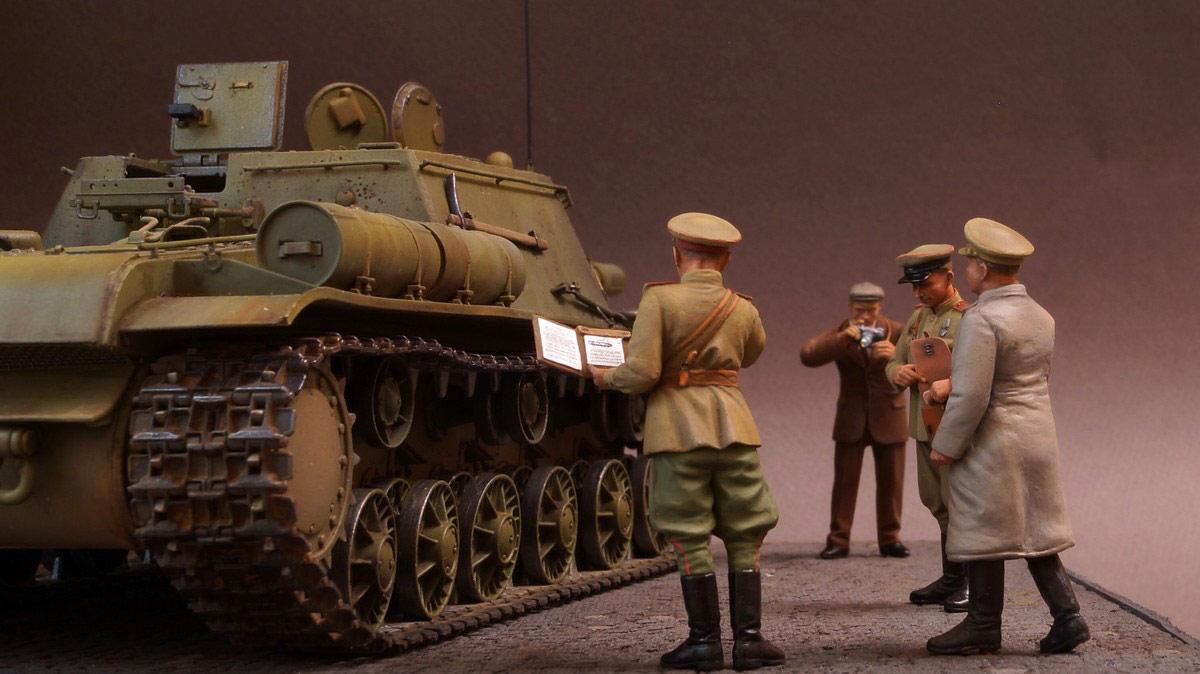 Dioramas and Vignettes: Kremlin, September 8, 1943, photo #1