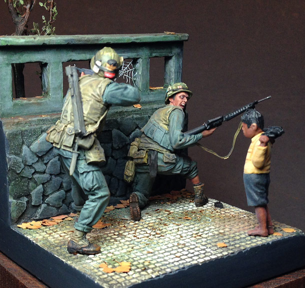 Dioramas and Vignettes: Boy, get the f*ck out of here!