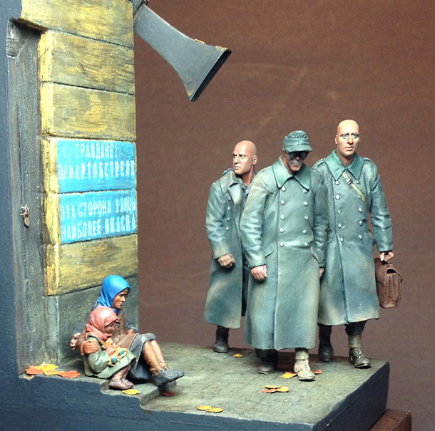 Dioramas and Vignettes: Damned Foes