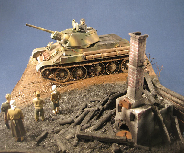 Dioramas and Vignettes: The burned land