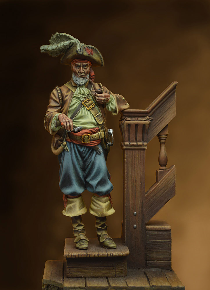 Figures: Quartermaster, 17th cent., photo #1