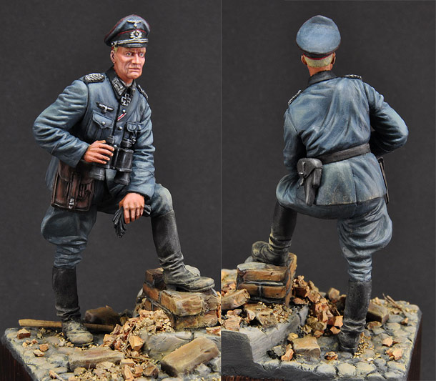 Figures: German officer