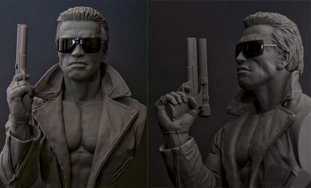 Sculpture: Terminator
