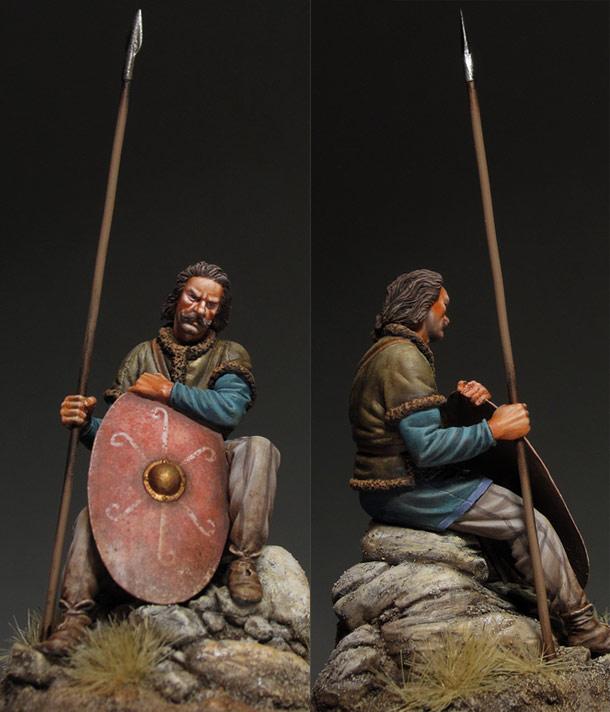 Figures: Gothic warrior