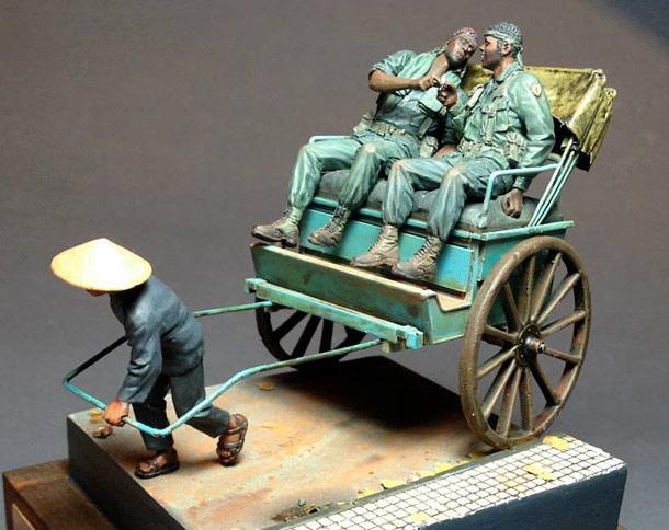 Dioramas and Vignettes: The Rickshaw