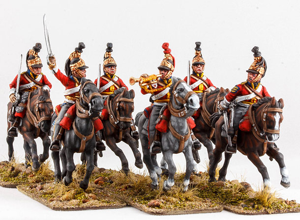 Figures: British Guard dragoons, 1815