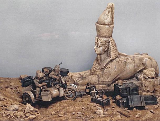 Dioramas and Vignettes: DAK 1942