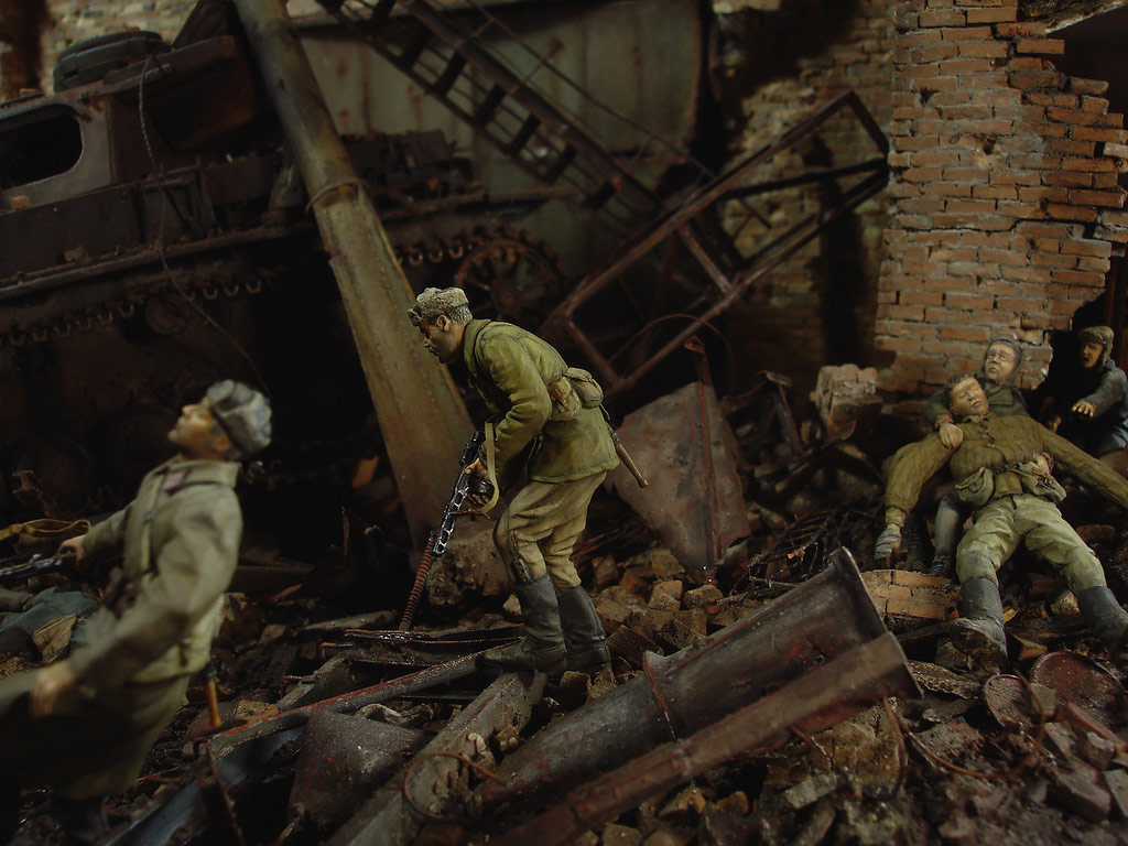 Dioramas and Vignettes: Stalingrad – Berlin, photo #17