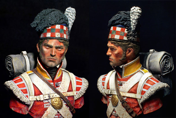 Figures: Waterloo. After the battle