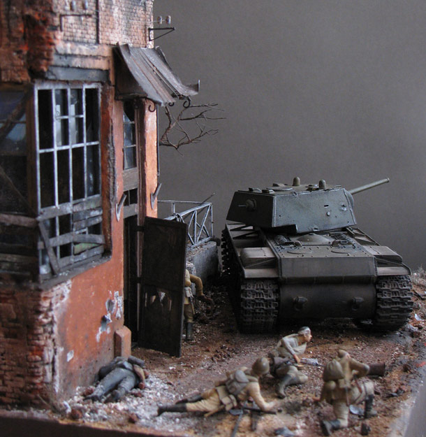 Dioramas and Vignettes: Formidable KV-1
