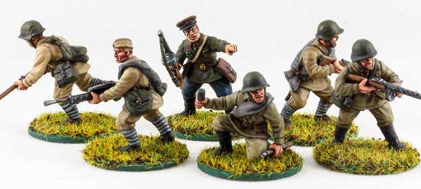 Figures: Red Army soldiers