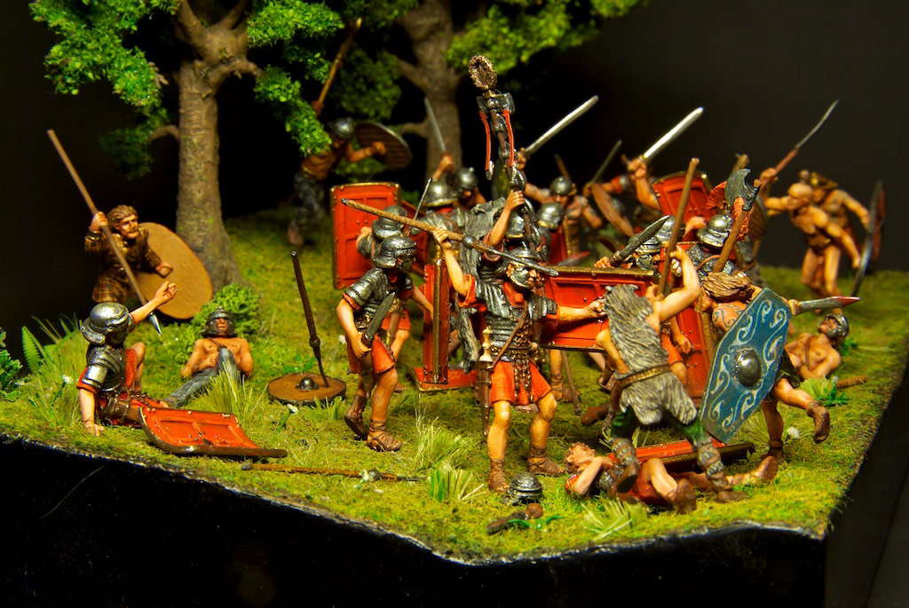 Dioramas and Vignettes: The Legion dies but does not surrender!, photo #1