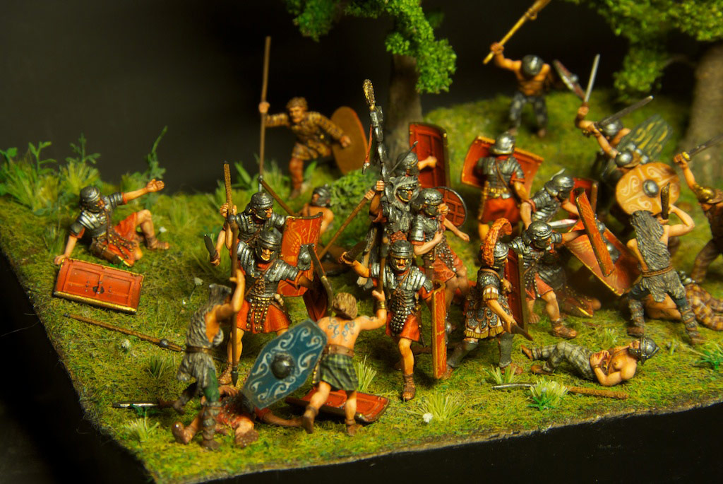 Dioramas and Vignettes: The Legion dies but does not surrender!, photo #10