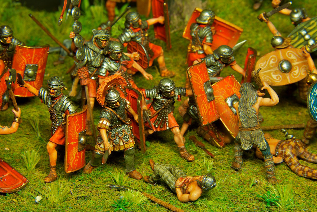 Dioramas and Vignettes: The Legion dies but does not surrender!, photo #13