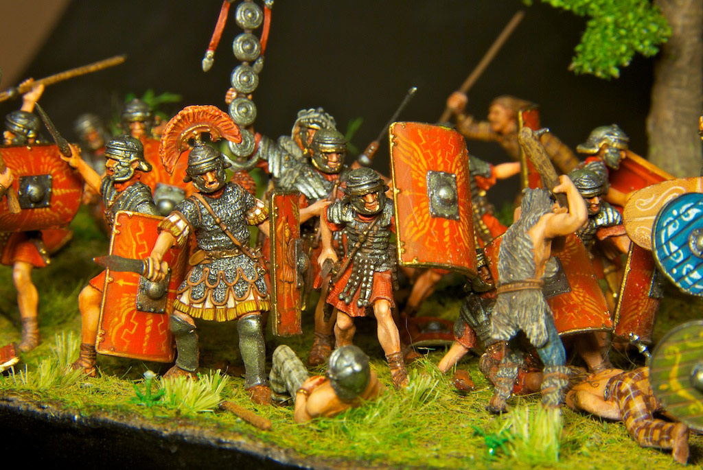 Dioramas and Vignettes: The Legion dies but does not surrender!, photo #14