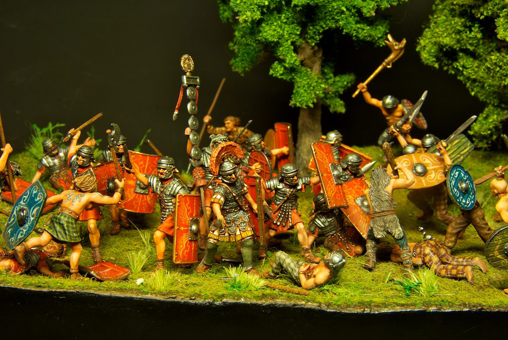 Dioramas and Vignettes: The Legion dies but does not surrender!, photo #7
