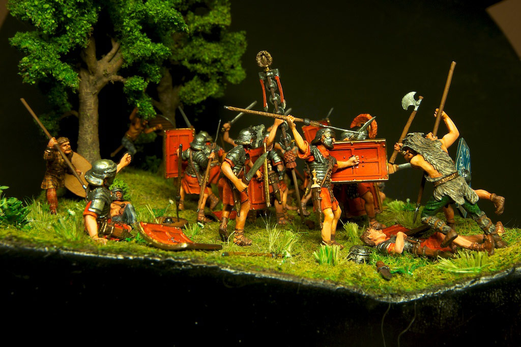 Dioramas and Vignettes: The Legion dies but does not surrender!, photo #9