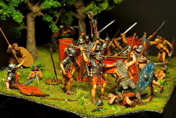 Dioramas and Vignettes: The Legion dies but does not surrender!