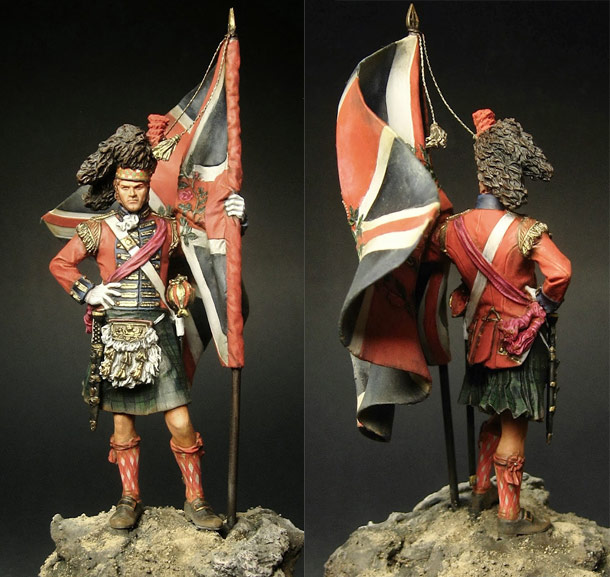 Figures: Highlander, 42nd regt.