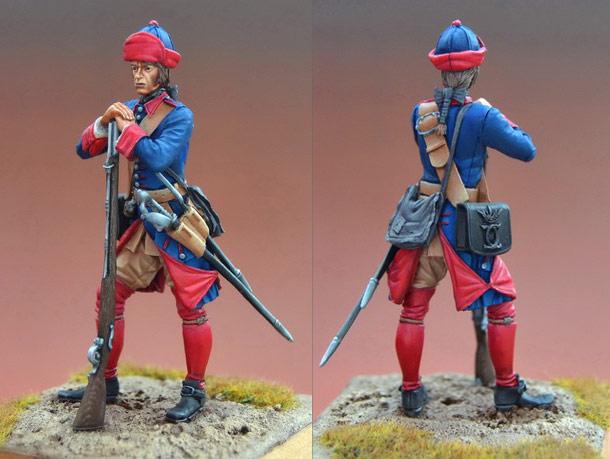 Figures: Swedish musketeer